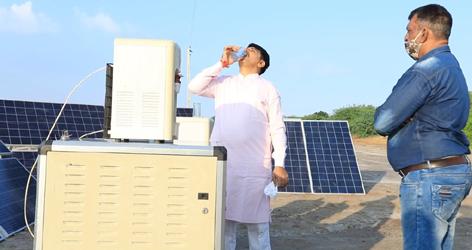 બનાસ ડેરીની અનોખી પહેલ :હવે વરાળમાંથી ઉત્પન્ન કરશે દિવસનું 120 લીટર પીવાનું પાણી