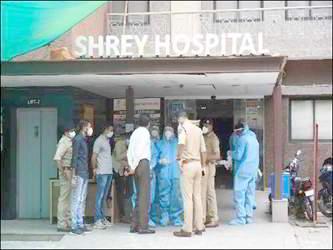 અમદાવાદમાં ૯૦૦ હોસ્પિટલો પાસે ફાયર NOC જ નથી