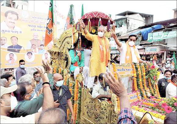 આપણે ગુજરાતની ૧૮ર બેઠકો જીતવાની છે-સંગઠનના