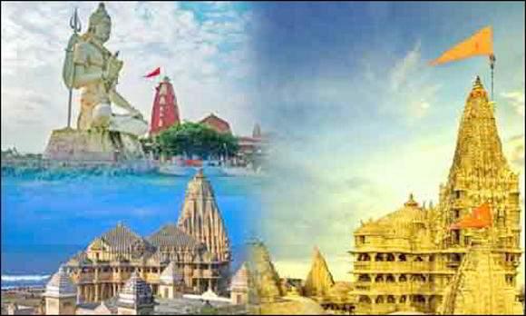 સોમનાથ - દ્વારકા - અંબાજી - ડાકોર સહિતના મંદિરોને કોરોના નડયો : શ્રાવણમાં પણ દાનપેટી ખાલી રહી