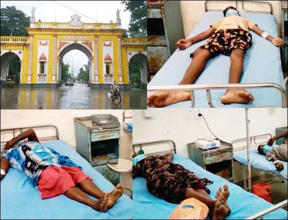 ધરમપુરના દાંડવળ અને તામછડી ગામે વીજળી પડતા બે લોકોના કરૂણમોત : પાંચ લોકો ઘાયલ