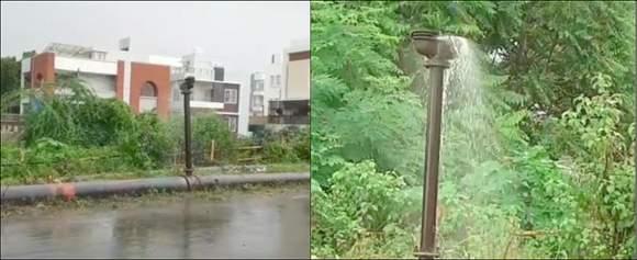 રાજપીપળાના કાર માઈકલ પુલ પર મુખ્ય પાણીની લાઈન લીકેજ થતા રોજનું હજારો લીટર પાણી રોડ પણ વહી રહ્યું છે