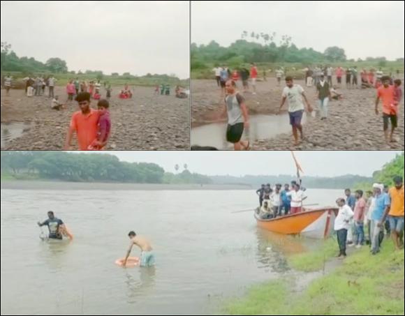રાજપીપળા નજીકના ભદામની કરજણ નદીમાં તણાયેલા બાળકો પૈકી એકનો મૃતદેહ હજુ મળ્યો નથી