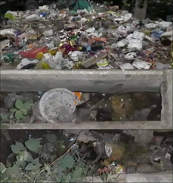 રાજપીપળામાં કોરોના આંક વધવા છતાં કેટલાક વિસ્તારોમાં સફાઈ, કચરા બાબતે તંત્રની લાલીયાવાડીના કારણે અન્ય રોગચાળાની દહેશત