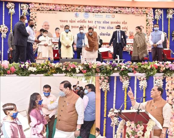 ગુજરાતના શહેરોને ટ્રાફિક-ફાટક અને પ્રદુષણમુકત કરી રહેવા -માણવા લાયક બનાવવા છે :મુખ્યમંત્રી વિજયભાઇ રૂપાણી
