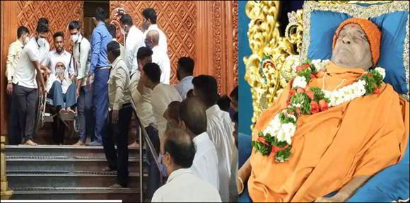 પૂ. હરિપ્રસાદ સ્વામીના દર્શને સાંજે કુંવરજીભાઇ બાવળીયા - કાલે સૌરભભાઇ પટેલ
