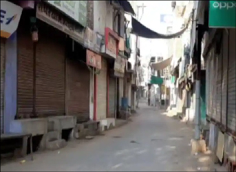 પ્રાંતિજના બજારો બીજા દિવસે પણ સુમસામ : કોરોના સંક્રમણ અટકાવવા વેપારીઓ દ્વારા સ્વયભૂ બંધ કરાયુ