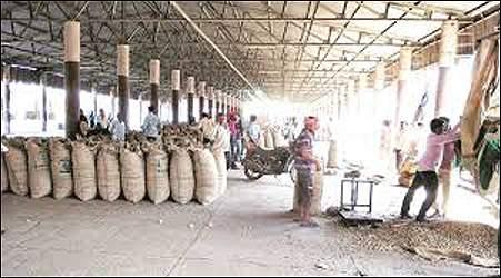 પાલનપુરના સરકારી માલનાં ગોડાઉનમાં વિજિલન્સના દરોડા:1.90 કરોડના અનાજની ગોલમાલ થતા તપાસ હાથ ધરવામાં આવી