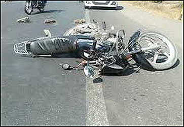 જીતગઢ ડેમ નજીક પુરપાટ જતી મોટરસાયકલ સામે ડુક્કર આવી જતા ચાલકનું સારવાર દરમ્યાન મોત
