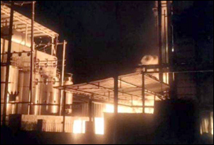 વડોદરા નજીક GIDC સ્થિત એડવાન્સ રેઝીન પ્રાઈવેટ લિમિટેડ કંપનીમાં આગ : ભારે દોડધામ