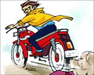 સાગબારા ટાઉન વિસ્તારમાં પાર્ક કરેલી મોટરસાયકલની ચોરી થતા ફરીયાદ નોંધાઈ