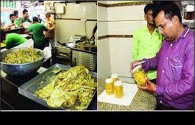 આણંદ જિલ્લામાં દશેરાના  તહેવાર  નિમિતે  ફાફડા જલેબીની  દુકાનમાં ફૂડ વિભાગના  દરોડા